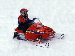 Le circuit mini Snow Biker :